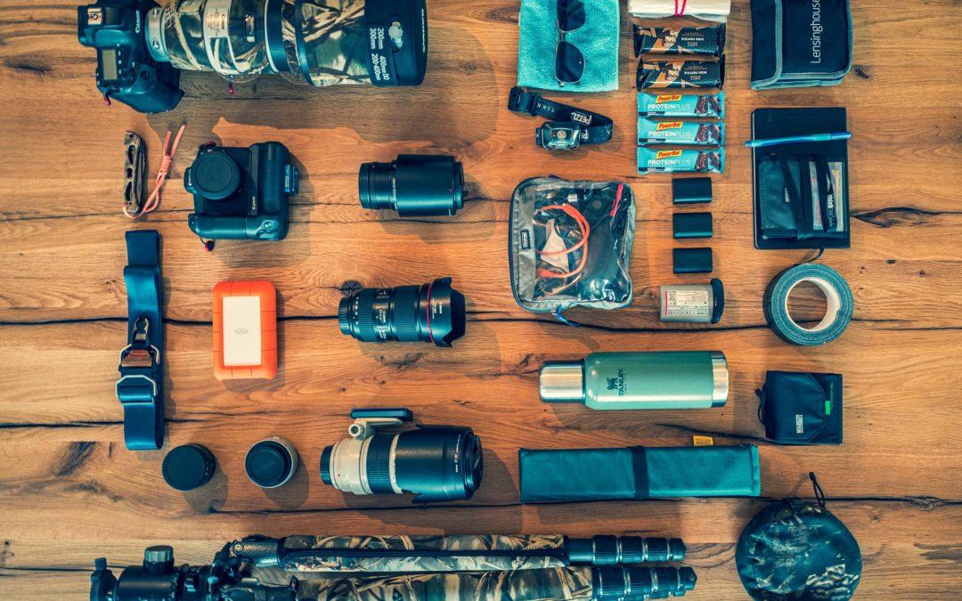 Die Ausrüstungscheckliste für deine nächste Fototour!